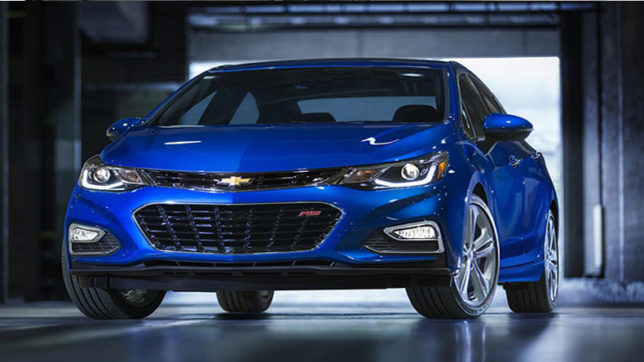 chevrolet cruze to feature 16 litre diesel engine