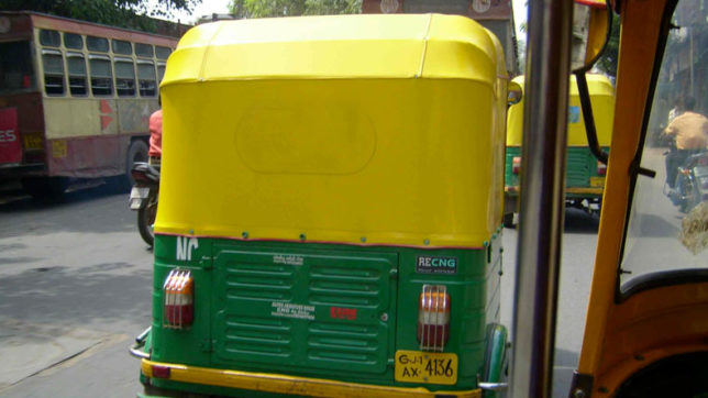 Autorickshaw, Traffic jams, Waiting charge