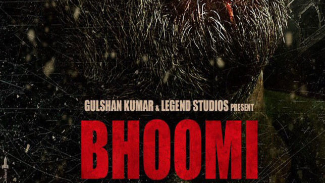 Sanjay Dutt Bhoomi poster released see his new look
