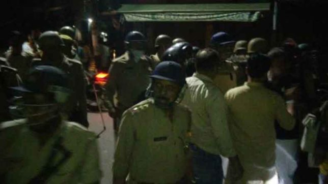 Communal tension in Aligarh and Hapur over construction of religious site