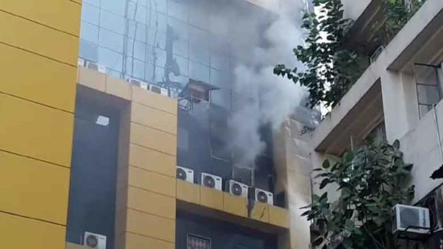 Fire breaks out at GV mall in patna
