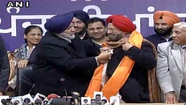 ex army chief general J. J. singh will contest election against amrinder singh