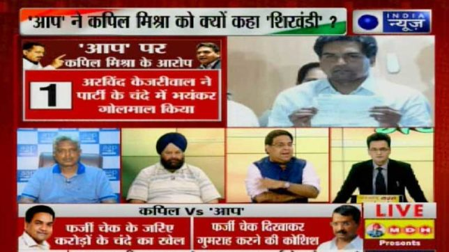 Kapil Mishra dares Kejriwal Resign or will drag you to Tihar jail