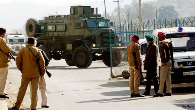 Ministry of Home Affairs aid four terrorists attcked on pathankot air base not six