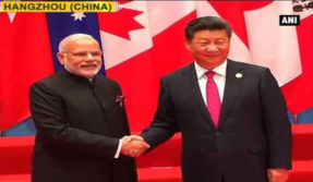 PM Modi meets Chinese President Xi Jinping before G 20