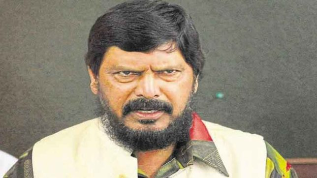 Ramdas Athawale says that everyone has right to eat beef