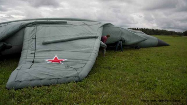 Russia is all set to cheat their enemies with decoy balloon Arsenal