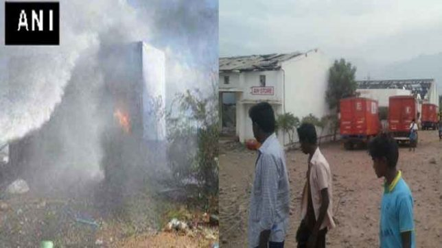 10 dead in trichy fire says Fire officials