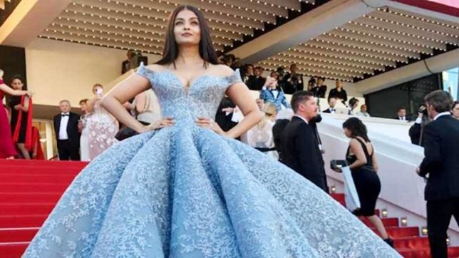 Aishwarya Rai Bachchan has a record of taking Cannes by the storm