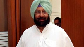 punjab says to amarindar happy birthday to you and to aap no thank you