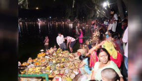 you must watch delhi chhath puja celebration in these photos