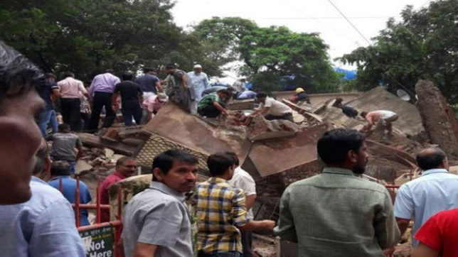 7 families got home who lost there homes in ghatkopar building collapse