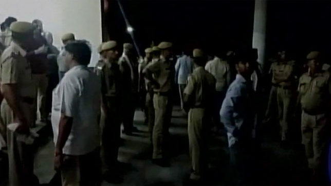 marriage hall collapse in rajasthan bharatpur