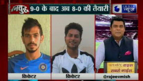 India News show ranyudh on India vs Australia tournament