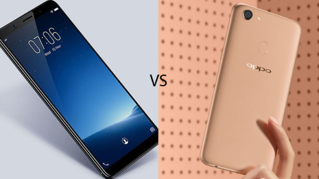 Oppo F5 Youth vs Vivo V7: which one be the best smartphone for you