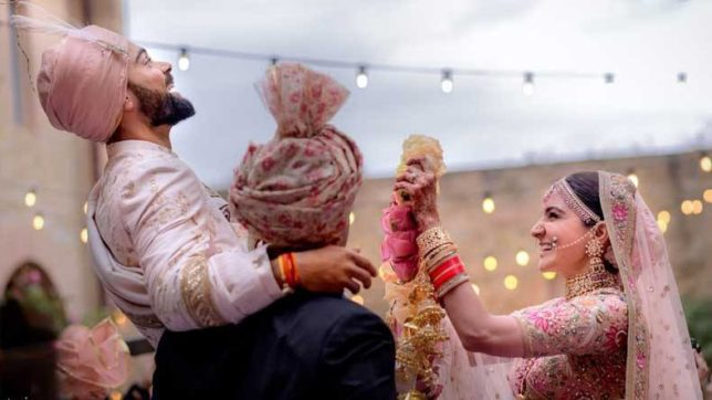 Virat Anushka Wedding Photo-1