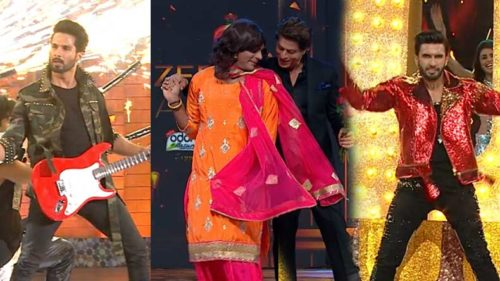 Zee-Cine-Awards-2018-Shah-Rukh-Khan,-Ranveer-Singh,-Shahid-Kapoor-and-Sunil-Grover's-amps-up-everyone's-energy-levels-with-his-performance-at-Zee-Cine-Awards