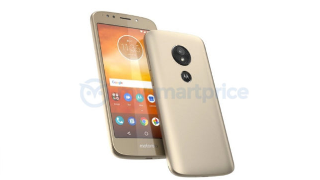 Motorola parent company Lenovo new smartphone Moto E5 image leak rear mounted fingerprint sensor might