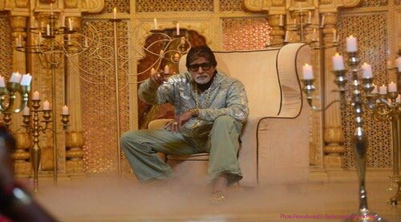What did the great Amitabh Bachchan do on the trees