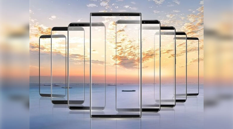 Gionee 8 Bezel Less Display Smartphones to be launched on November 26