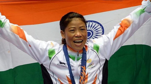 Mary Kom beat North Korea Hyang Mi Kim to win her fifth Gold medal at Asian Boxing Championship