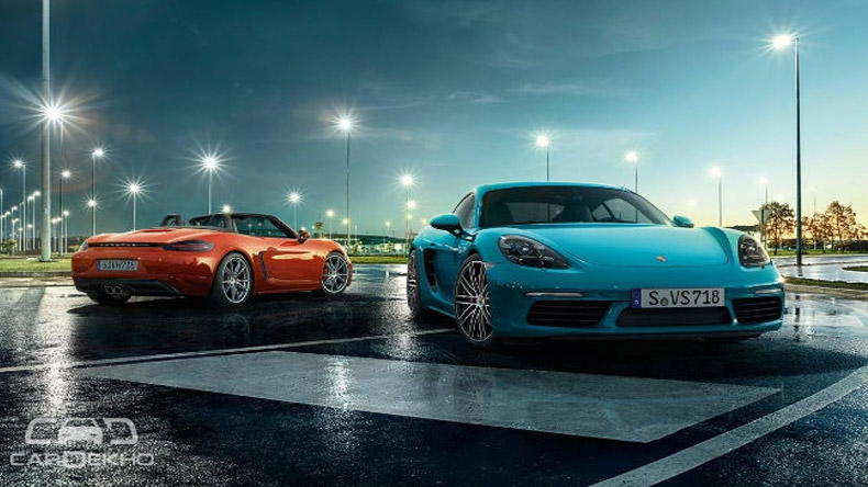 Porsche 718 Cayman and Boxster launch today
