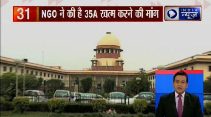 Supreme Court adjourns hearing on petitions filed against Article 35A by 8 weeks