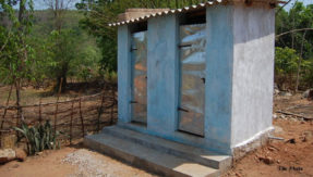 two girls made toilet with their scholarship money in jharkhand