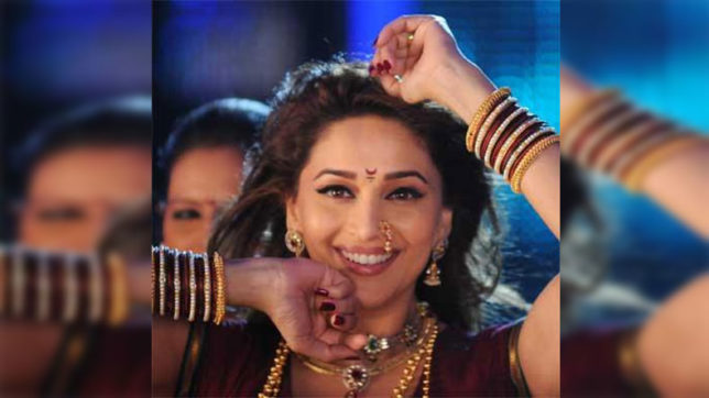 Madhuri Dixit reveals first look of her first marathi film