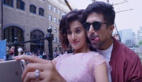 dil juunglee trailer watch taapsee pannu and saqib saleem love raonace and masti