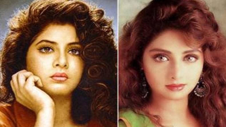Video When Divya Bharti Compared To Sridevi Says She Is Better Than Me Video -4462