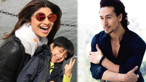 actrss-shilpa-shetty-son-viaan-copy-tiger-shroff-dance-from-baaghi-2-film-song