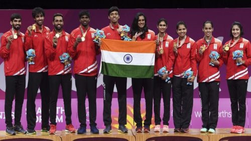indian badminton team