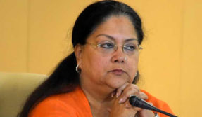 rebel against Chief Minister Vasundhara Raje by BJP MLA Ghanshyam Tewari Demanded to vacate government bungalow Rajasthan