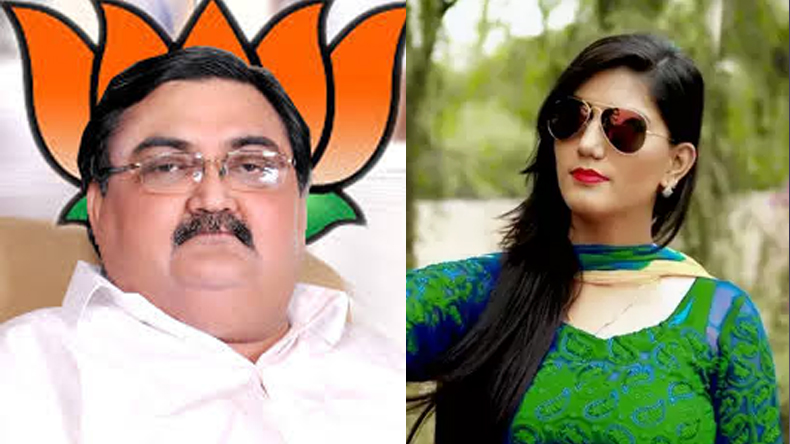karnal bjp mp ashwini kumar controversial statement on haryana dancer sapna choudhary