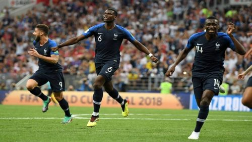 Paul pogba goal final france vs croatia