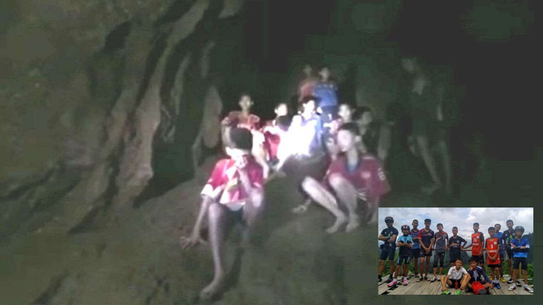 football coach and 12 children trapped in thailand Tham Luang Cave writes letter to thier parents