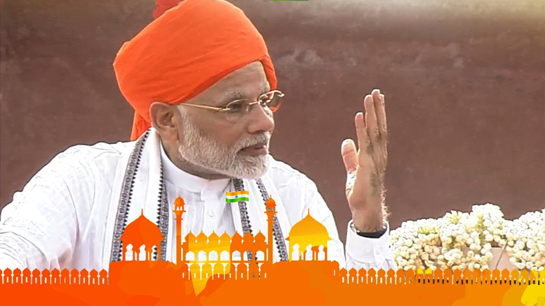 10 Points of PM Narendra Modi Speech on Independence day