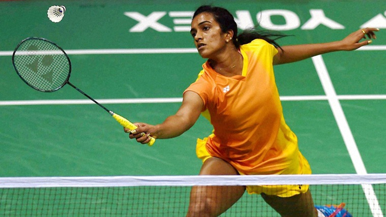 Asian games 2018 badminton player pv sindhu enters in finals