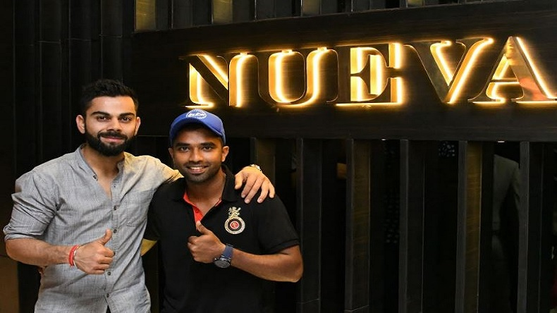 Indian Cricket Team Captain Virat Kohli New Restaurant Nueva