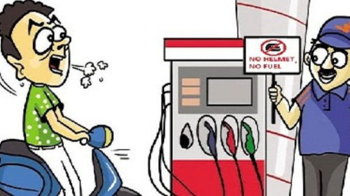 Bangladesh government step to not giving petrol in petrol pumps without wearing helmets on Motorcycles