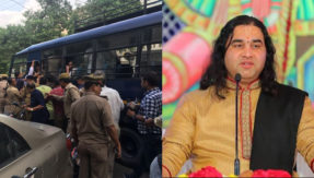 UP Police arrested maharaj devkinandan thakur before his press conference in agra