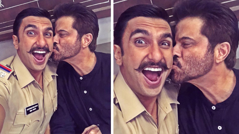 When Lakhan anil kapoor met Simmba ranveer singh gives kiss