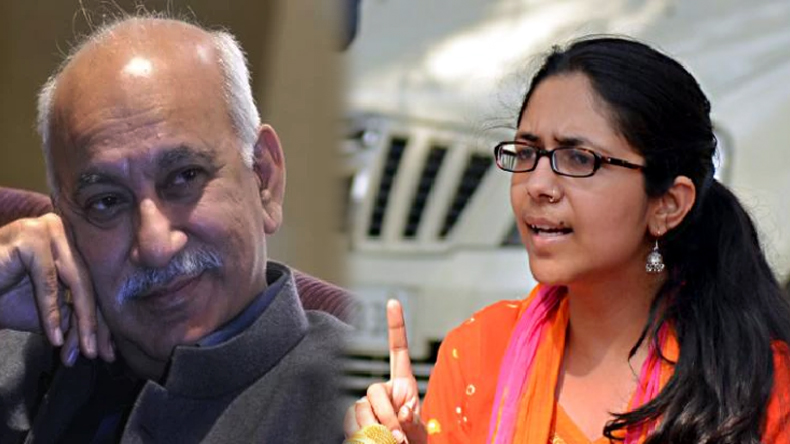 DCW chief Swati Maliwal writes letter to PM Narendra modi to remove MJ Akbar