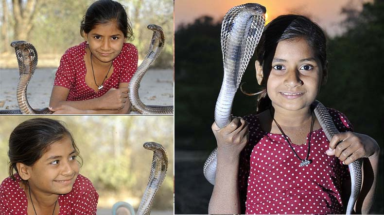 Indian Snake Girl Kajol Ghatampur