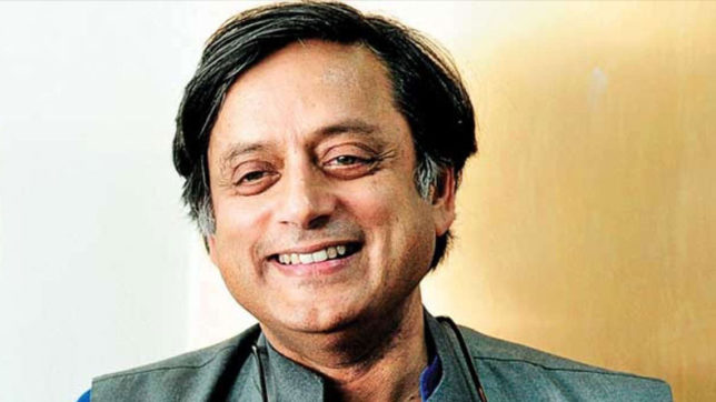 Congress Mp Shashi Tharoor Tweets About His New Book The Paradoxical