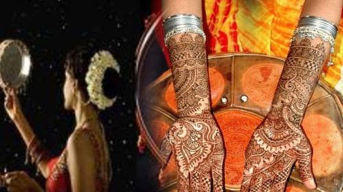 karwa chauth 2018 mehndi designs and significance