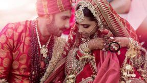 Deepika Padukone Ranveer Singh Wedding photo
