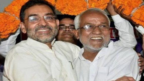 Nitish Kumar is making objectionable comment on Upendra Kushwaha from fear of sliding of base vote bank said RLSP