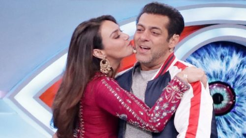 Salman Khan Preity Zinta Bigg Boss 12 Photos